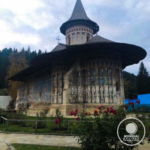 Voroneţ Monastery, Bucovina