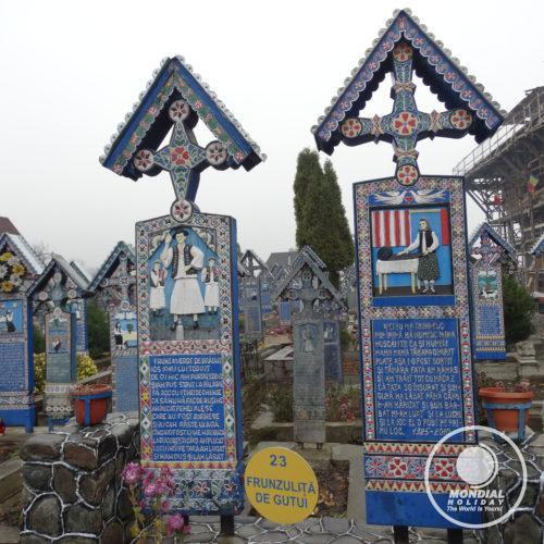 Cimitirul Vesel, Sapanta, Maramures