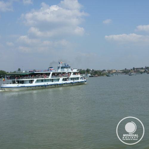 Boat trip in the Danube Delta